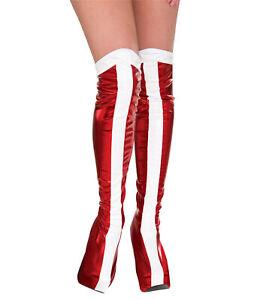 Wonder Woman DC Comics Superhero Women Costume Boot Tops Covers 62cm