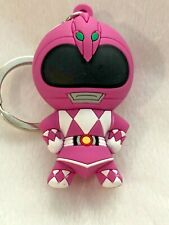 Mighty Morphin Power Rangers Blind Bag Keychain Pink Ranger