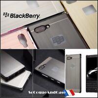 Etui housse coque Aluminium Brossé Hybride Brushed Case Cover BlackBerry Key2