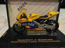 IXO 1:24th Honda RC211V MotoGP 2004 Team Pramac Camel Pons #3 Max Biaggi RAB086