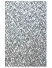 Silver Embossed Pebble Invitation Paper A4 / Pkt 5