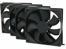 Rosewill 120mm Computer Case Cooling Fans (Pack of 4) ROCF-13001