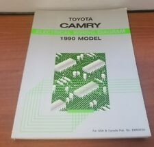 1990 TOYOTA CAMRY ELECTRICAL WIRING DIAGRAM NO. EWD073U USA CANADA