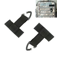 2pcs Tactical Molle T-shaped Triangle Carabiner Keychain Backpack Hooks Buckle