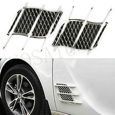 Auto Car Air Intake Flow Vent Fender Decorative Hood Side Air Net Door Sticker