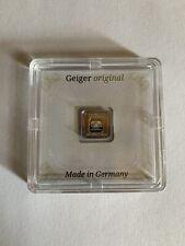 New Listing1 Gram .999 Fine Silver Bullion Bar Geiger Edelmetalle Original Square Assay