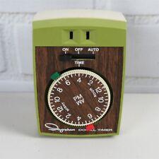 Vintage INGRAHAM Heavy Duty 24 Hour Appliance Timer Model 12-010