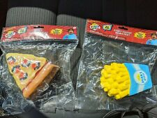 NEW Ryan's World set of 2 Soft n' Slo Squishies Pizza + French Fry US Seller