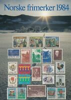 Norway UNUSED 1984 Assorted Norway Stamps Illustrated Post Card Ref 45747