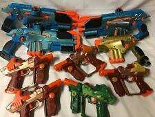 TIGER LAZER TAG TEAM OPS LASER LOT GUNS PHOENIX PISTOL SHOTGUN TESTED READ 1st