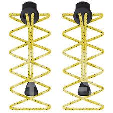 Elastic Sports Laces Lock Shoelaces Running Triathlon Shoe Trainer Jogging Run