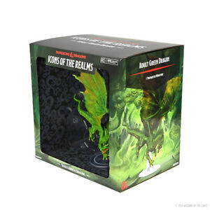 PREORDER D&D Icons Premium Miniature pre-painted Adult Green Dragon