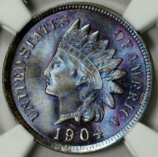 NGC MS65 BN 1904 INDIAN HEAD CENT
