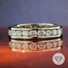 Wert 11.000,- Eleganter 750 / 18 Karat Gold Memory Diamant Damen Ring 2,75 Carat
