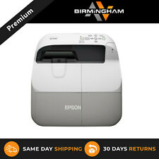 More details for epson eb-470 ultra short throw 2600 lumens projector new lamp hdmi usb