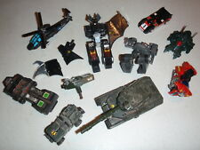 GOBOTS LOT DESTROYER TANK WRONG WAY GEEPER CREEPER MORE