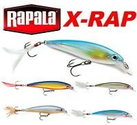Rapala X-RAP Fishing Lures 8cm 10cm Predator Fishing Tackle Sea Pike Bass Perch