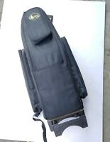 Gard Saxophone Wheelie Bag in Synthetic with Leather Trim Fits Alto or Soprano