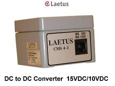 Laetus Cms4-1 Enclosed Dc To Dc Converter 15V/10V with 6 foot Rj45 cable