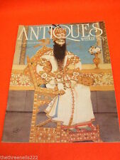 May Weekly Antiques & Collectables Magazines