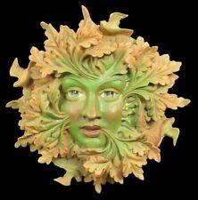 Plaque Greenman-Cheeky Mouth-Fantasy déco baumgeist Baummann