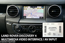 Land Rover Discovery 4 Multimedia Video Interface for AV INPUT MOVIE