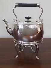 Silver Plate SPIRIT KETTLE Teapot William Padley & Son Sheffield England