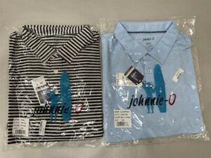 QTY: 2 Johnnie-O Men's Prep-Formance Polo Short Sleeve Shirt, Size XXL