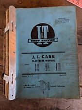 Allis Chalmers J.I. Case I&T TRACTOR Flat Rate Manual Collection of misc manuals