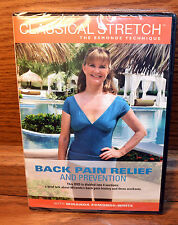 NEW Classical Stretch Back Pain Relief & Prevention DVD Miranda Esmonde White