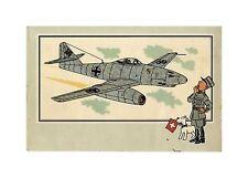 HERGé/TINTIN 195x  CHROMO L AVIATION 1939/45  N°41 BE