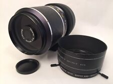 Hanimex 500mm f:8 lens, M42 Mount With Tiffen Series 9 Adapter & shade