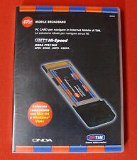 PC CARD ONDA PT512HS HSDPA-UMTS-EDGE-GPRS HI-SPEED NUOVA INTERNET - GAR. 24 MESI