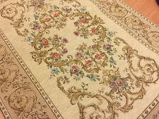 Pretty Feutre soutenu Tapis Avec Jacquard Roses Design 94 cm x 60 cm