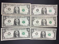 America One Dollar notes x 6 Plus American coins Great starter kit