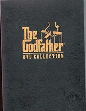 The Godfather DVD Collection 5 Disc Box Set I II III 1 2 3 Bonus Material 2001