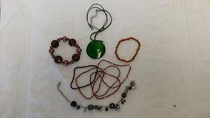 Various items costume jewellery