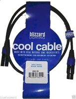 Blizzard Lighting Cool Cable DMX-3Q 3' 3 pin DMX cable