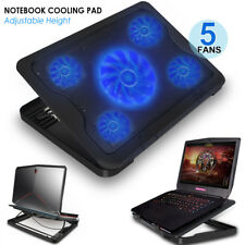 "Ultra-Slim Laptop Cooling Pad Chill Mat 5 Fans 2016 Macbook Pro 13"" A1706 /"