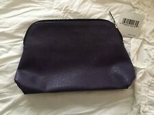 Nordstrom Dark Purple Organizer Make Up Cosmetic Bag Brand New with Tag