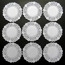 """DINKY BELLA PAPER LACE DOILIES x 24 =3.5"""" OR 9CM"""