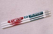 """12 """"I Love To Write"""" Personalized Pencils"""