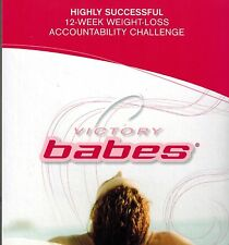 VICTORY BABES - 12-WEEK SUCCESSFUL WEIGHT-LOSS CHALLENGE -  MINT 4 CD/DVD SET