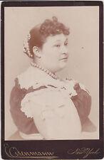 Mary Jane Powers Kentucky Giantess Barnum Fat Lady Eisenmann cabinet card