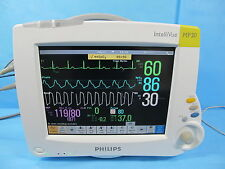 Philips Intellivue MP20 Patient Monitor with M3001A Module, Cables, & Warranty