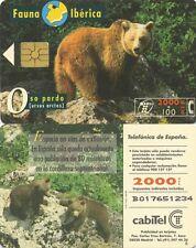 2000+100 PTA. Fanua Ibérica. Cabitel. Oso Pardo (ursus arctos).