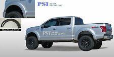 BLACK PAINTABLE Extension Fender Flares 2015 - 2016 Ford F-150 Full Set