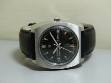 Vintage Titoni Spacestar Day Date Rotomatic Auto Swiss Mens e585 Antique WATCH