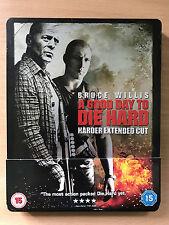 Bruce Willis A GOOD DAY T DIE HARD ~ 5 | Ltd Ed UK Blu-ray Steelbook w/ J Card