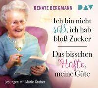 RENATE BERGMANN - ICH BIN NICHT SÜß,ICH HAB BLOß ZUCKER/DAS BISSCHEN  6 CD NEU